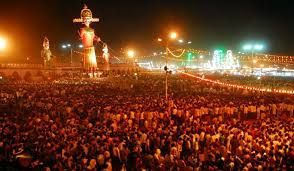 Dussehra is celebrated all acrosss India as it marks the death of the demon king, Ravana at the hands of Lord Rama.