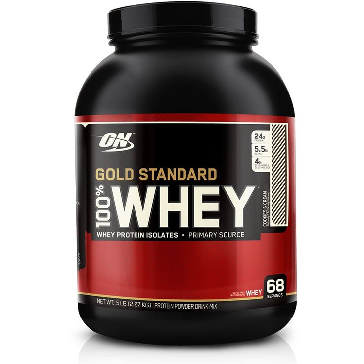 Whey Gold Standard 100% Cookies e Cream 2273g Optimum Nutrition :: UniNatural