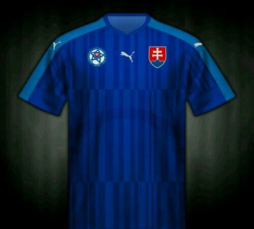 Slovakia away shirt for the 2016 European Championship.