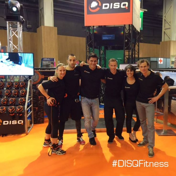 #DISQ at the tradeshow #SalonMondialBodyFitness Form'expo. The whole weekend the Paris Expo Porte de Versailles will present the latest trends and innovations in the following areas: Trademarks for fitness, wellness and health, sports materials, cardio-training, shoes, sportswear, accessories.   We are honored to be here together with Planet-Fitness.fr and we are happy to welcome you! Come and say hello at booth C97 surrounded in this 4619 sqm of Fitness, Wellness and Health!
