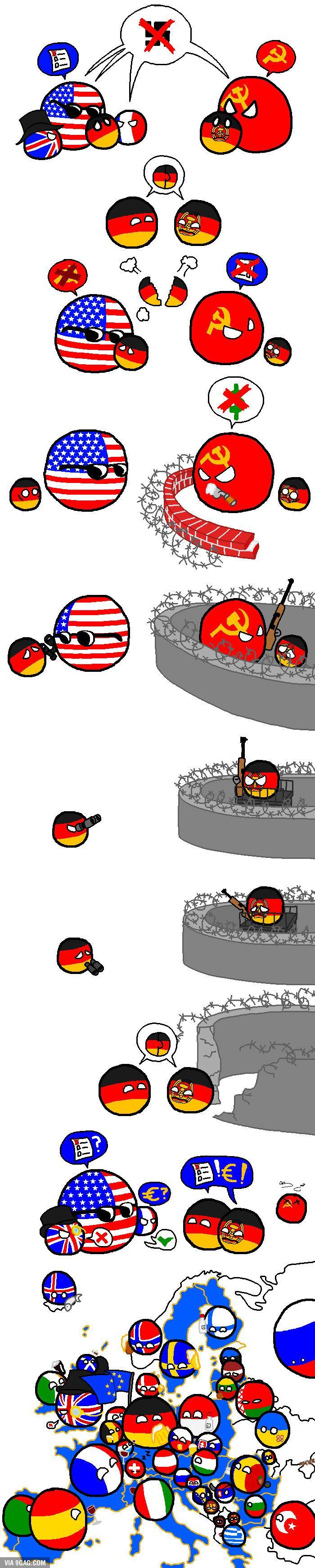 The German reunification - 9GAG