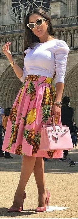 #summer #fashion In the bustling city this looks bright and fresh
