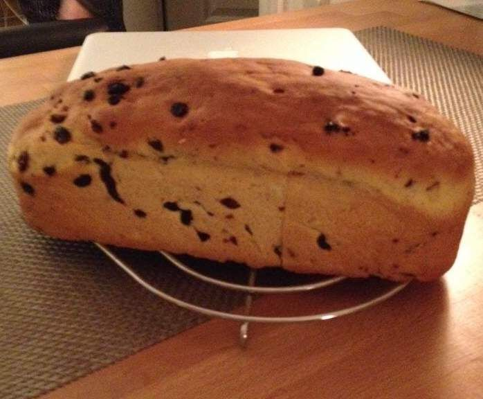 Rezept Rosinenbrot (nach Omas Stuten von jusia2011) von ThermoSH - Rezept der Kategorie Brot & Brötchen