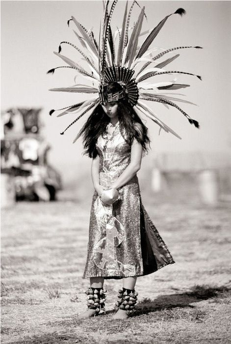 Native American bride headdress