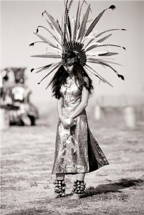 Native American bride headdress