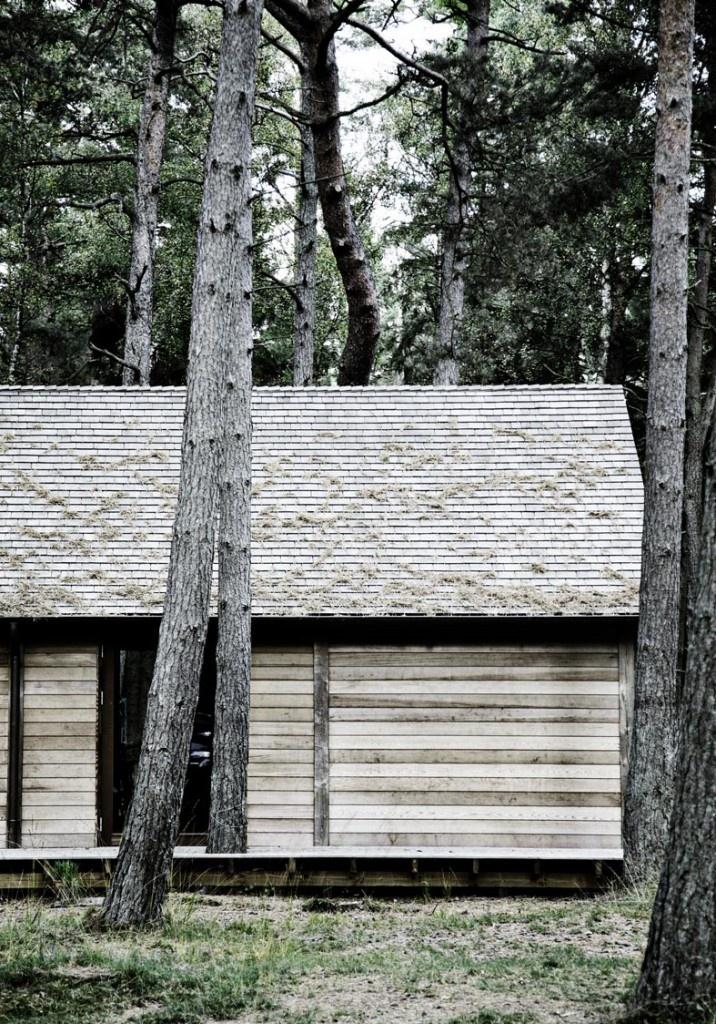 København Møbelsnedkeri, Modern Cabin, Wicker Furniture, Danishes Design, Trees House, Denmark, Architecture, Scandinavian Retreat, Logs Cabin