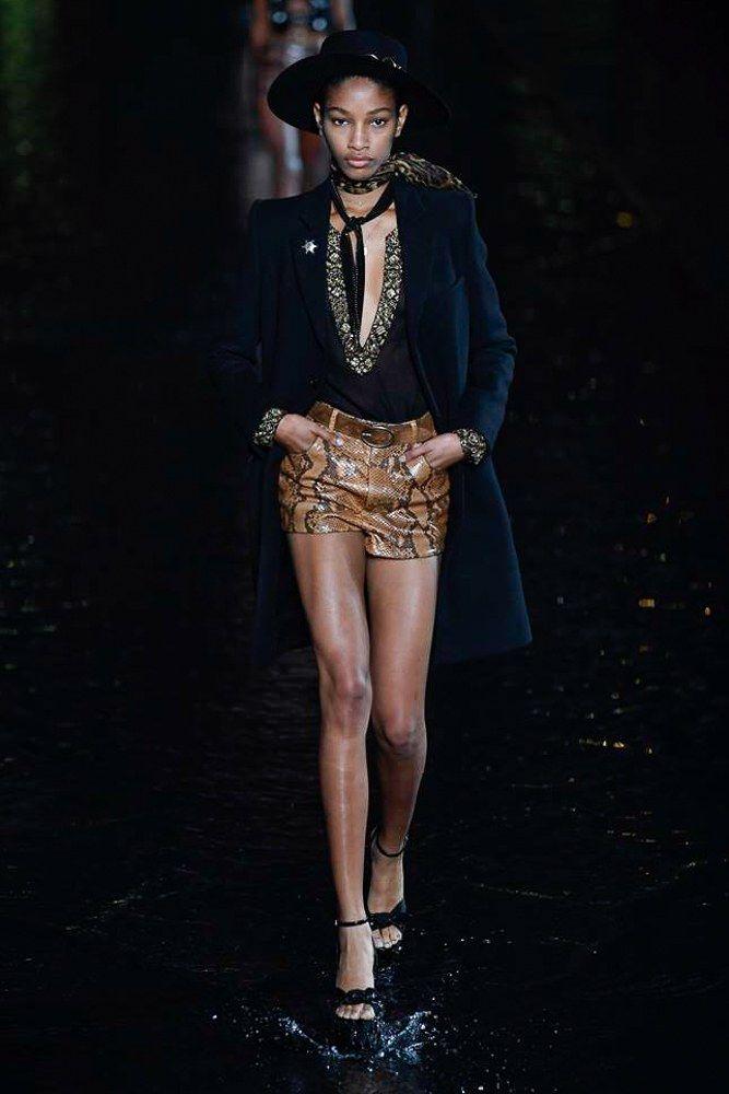 043e790842b Saint Laurent Spring 2019 Ready-to-Wear Fashion Show | RUNWAY ...