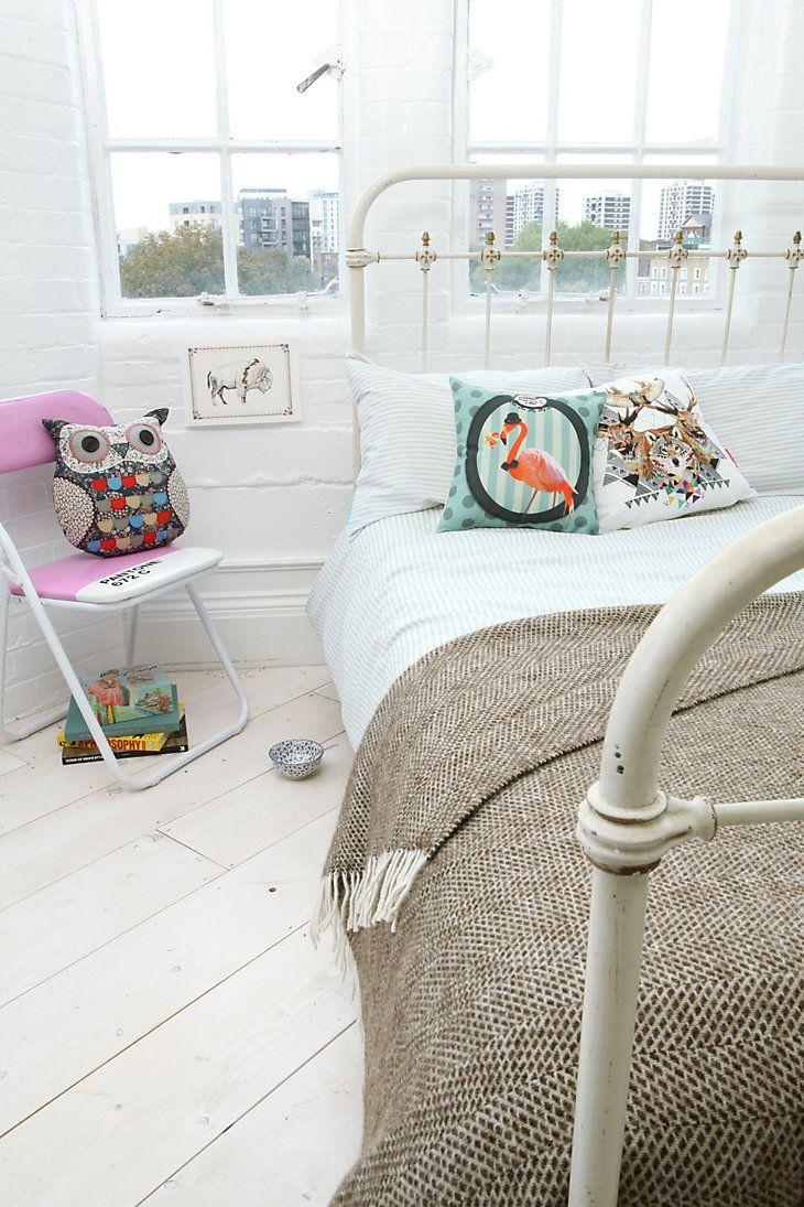 Tweedmill Chocolate Beehive Blanket