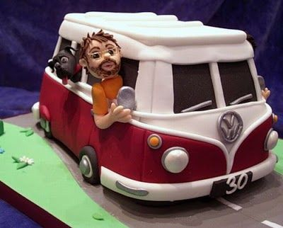 This is so cool for a cake. Need to figure it out so that I can make it for Joey birthday next year.