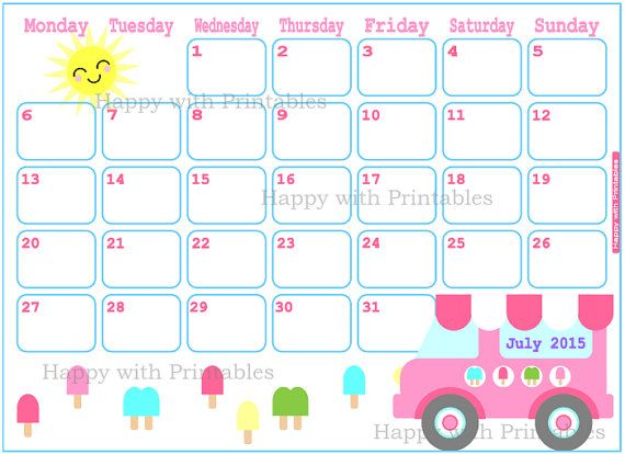July 2015 Calendar Image - Get an exclusive collection of July 2015 Calendar Printable Template, Word, Doc, Pdf and Holidays in US, UK, NZ, Canada, Australia.