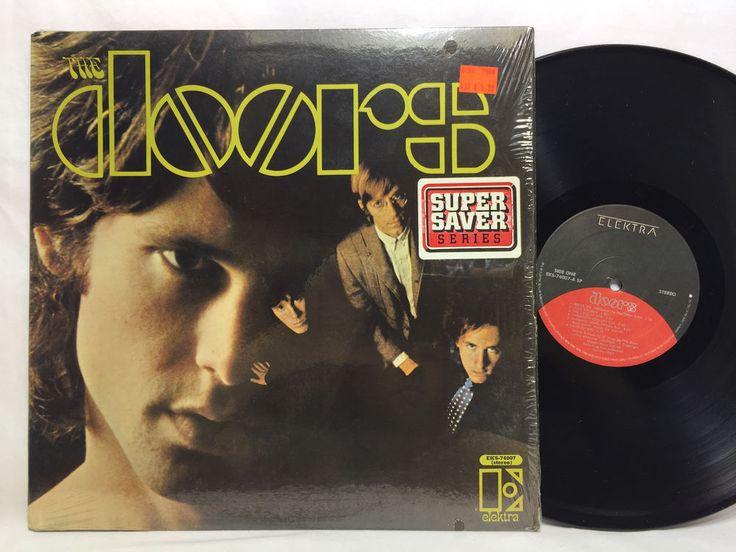 The Doors Self Titled Debut Album EKS 74007 Elektra Black & Red Label LP Vinyl