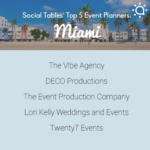 Top 5 Miami Event Planners: Twenty7 Events www.twenty7events.com #top5miamieventplanner #miami