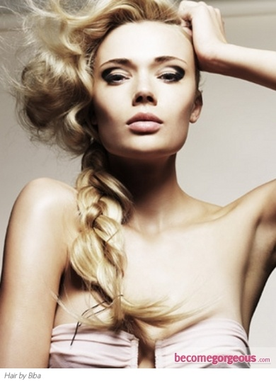 Long Loose Braided Hairstyle