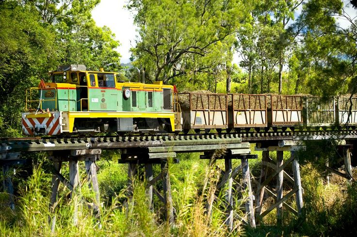 QM0029 Sugar Cane Train crossing Bridge near Mackay QLD _DSC7342.jpg 1,000×665 pixels