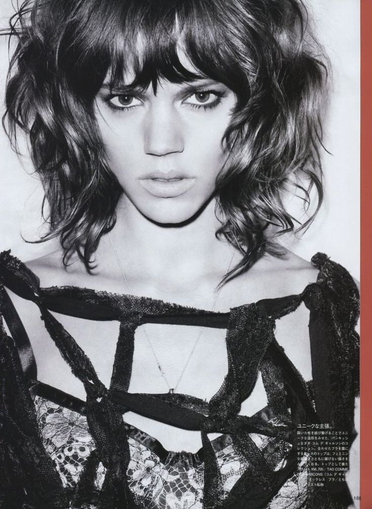 Freja Beha Erichsen - can my hair do this? I REALLY HOPE SO.