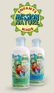 Mission Nature porduits de soin pour enfants