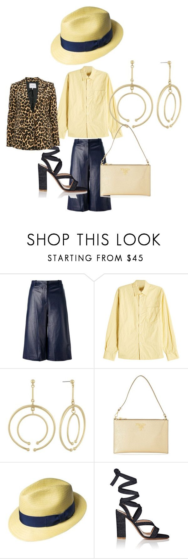 """Shorts Suits 2018, 1c!"" by alvandcompany ❤ liked on Polyvore featuring Diane Von Furstenberg, Marni, Laundry by Shelli Segal, Prada, Bailey of Hollywood, Gianvito Rossi, Frame, MadetoMatch and ShortSuits2018"