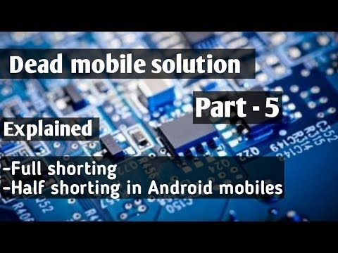 How to repair a dead mobile phone part -5 || Explained concept of