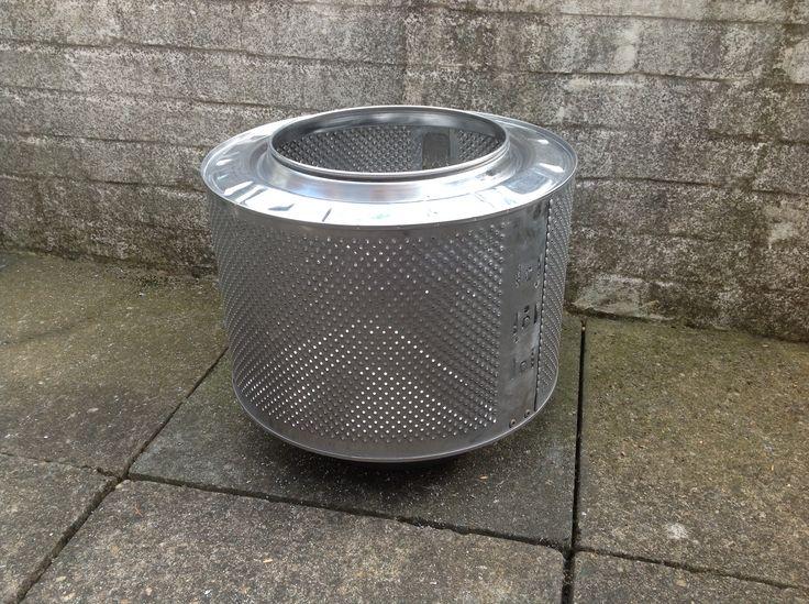 Washing Machine Drum Fire Pit :)