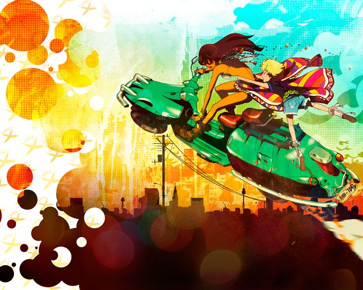 Michiko to Hatchin #michiko #hatchin #anime this is such a great anime!!