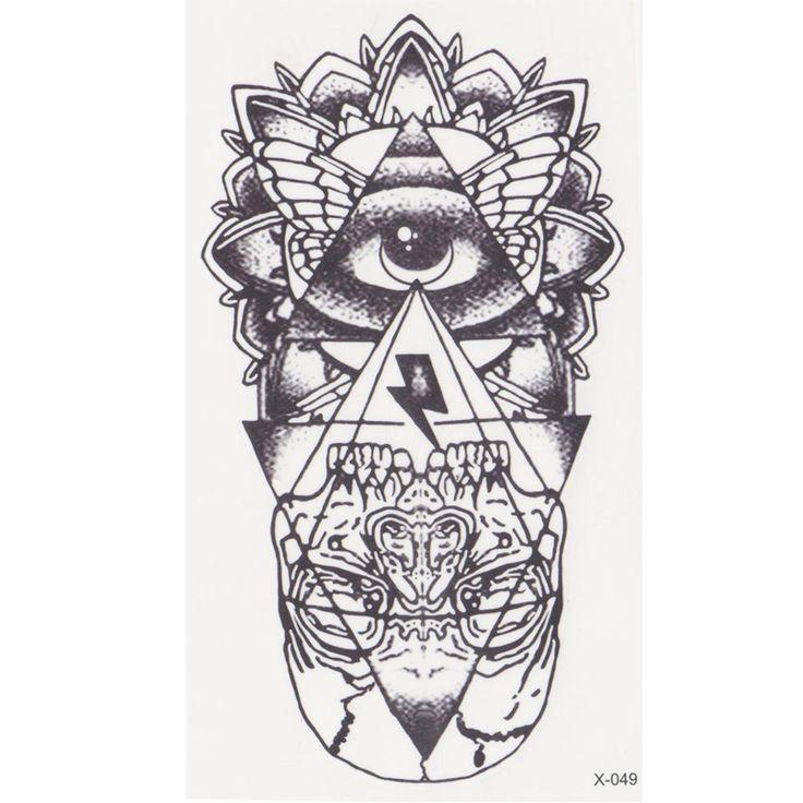 new eye of God Temporary Tattoo Sticker  totem tattoo body art Waterproof fake tattoo God' s eye  flash tattoos for woman men