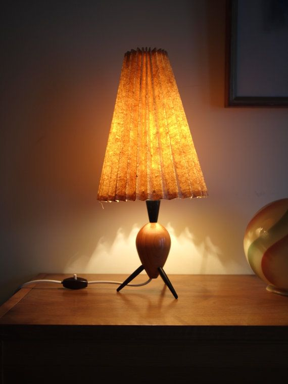 50's Table Lamp Atomic by VintageHome2070 on Etsy