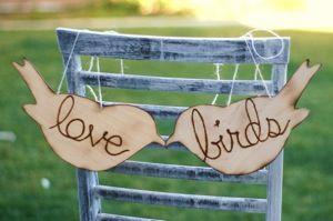 Love bird wedding :)