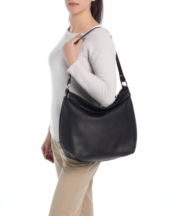 THE SIZE SHOWN IN PICTURES IS THE LARGE HOBO BAG.   The HELEN hobo bag in large size is our most popular product as it is also a stylish women laptop purse. A feminine and modern leather bag that is light and has plenty of storage space and organiser pockets is a must have piece for every women.   Ideal for any occasion and any style you can wear it short on the shoulder or using the long strap you can go with a casual style and hands - free. That makes a one-handed search mission very easy…