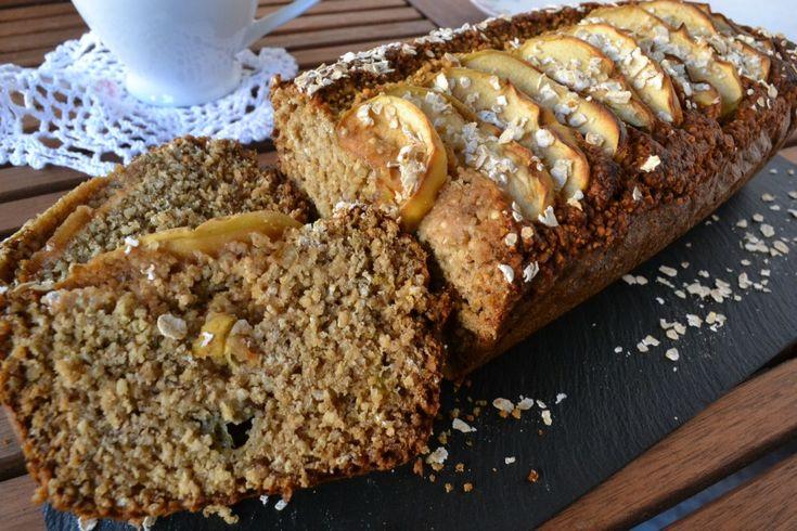 pan de banana y manzana con harina de quinoa sin gluten