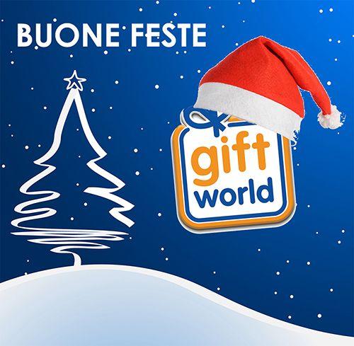 Buone feste e non dimenticate di visitare il nostro shop  http://giftworld.tnetsrl.com