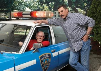 Family Business: Blue Bloods' Tom Selleck & Len Cariou photographed by Patrick Demarchelier for Watch! Magazine.
