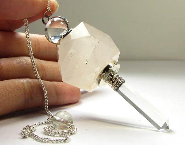 119 cts pendulum rose quartz gemstone gg 303
