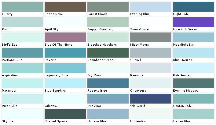pratt and lambert colors house paint color chart chip sample. Black Bedroom Furniture Sets. Home Design Ideas
