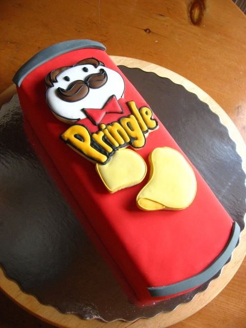 Pringles Cake Cake Birthday Cake Cake Decorating