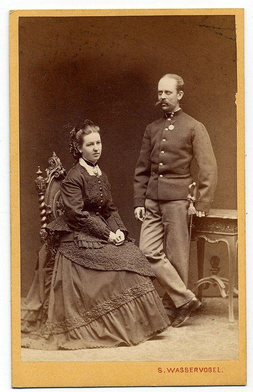 Sigmund Wasservogel, Olomouc - Lady X With Husband