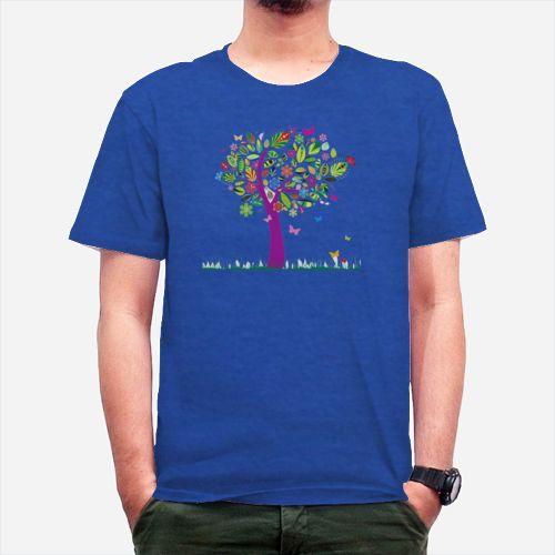 Pohon Warna Warni dari Tees.co.id oleh R&W Desain