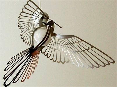 Designtorgets Lampa fågel