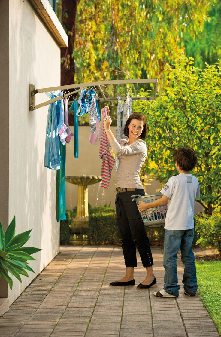 garden washing line solutions - Google Search