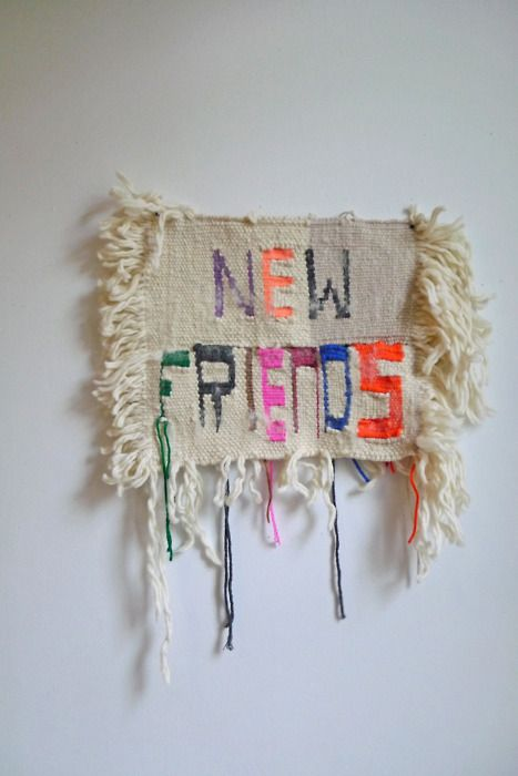 Kelly and I have weavings on display at the Sight Unseen Pop-Up Shop :^) Stop by May 13-1612PM-7PM,45 Great Jones St. NYC