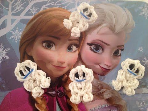 Rainbow Loom Nederlands, Elsa's Frozen Fever Snowgies - YouTube