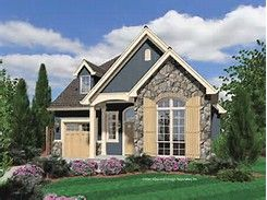 Lovely European Cottage House Plans #5 Small English Cottage House Plans