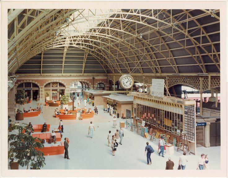 Sydney Central Station 1981