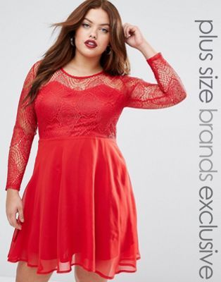 plus lace dress h and m