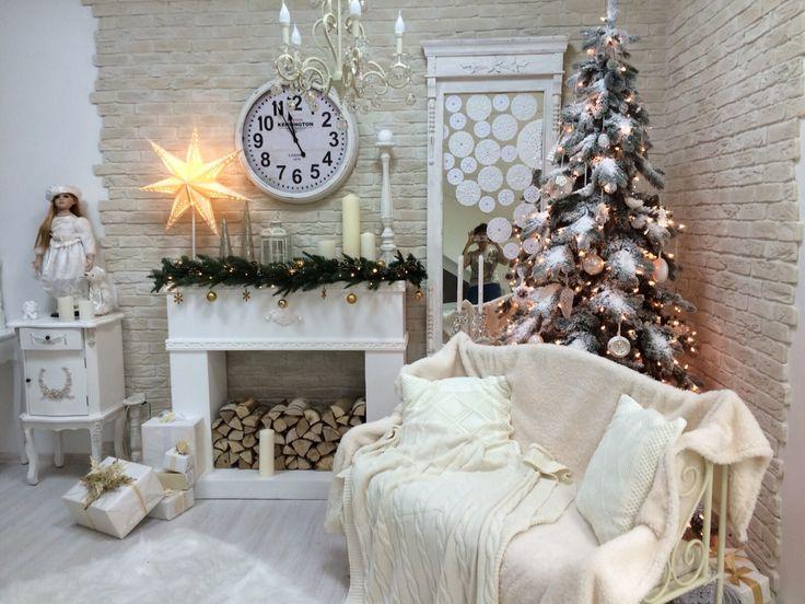 Фотозона в фотостудия Эдемский сад Новый год и Рождество