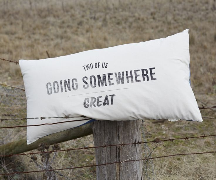 Pony Rider — GOING SOMEWHERE GREAT POTATO PILLOW COVER