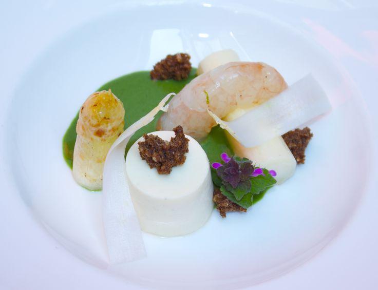 White Asparagus Panna Cotta | Spring Dinner | Pinterest | Panna Cotta ...