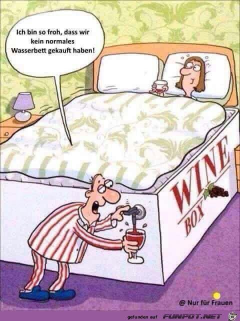 Die richtige Wahl des Bettes