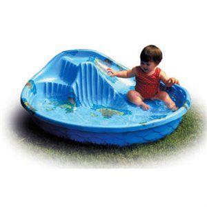 General Foam Round Kids Pool with Slide, 5-Ft.: Model# GV68DTS   True Value