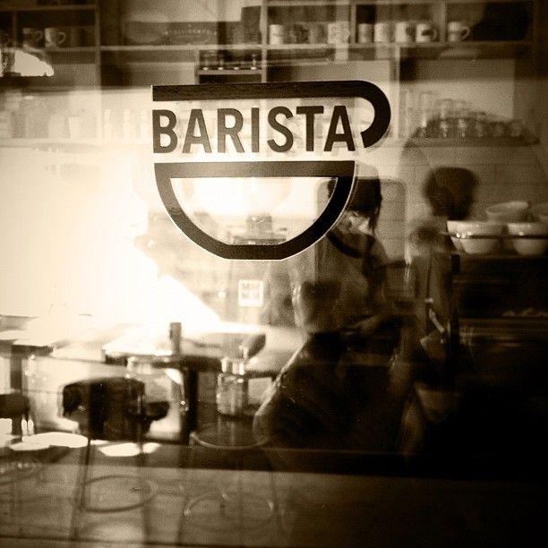 Barista. Portland, OR. Cafe life
