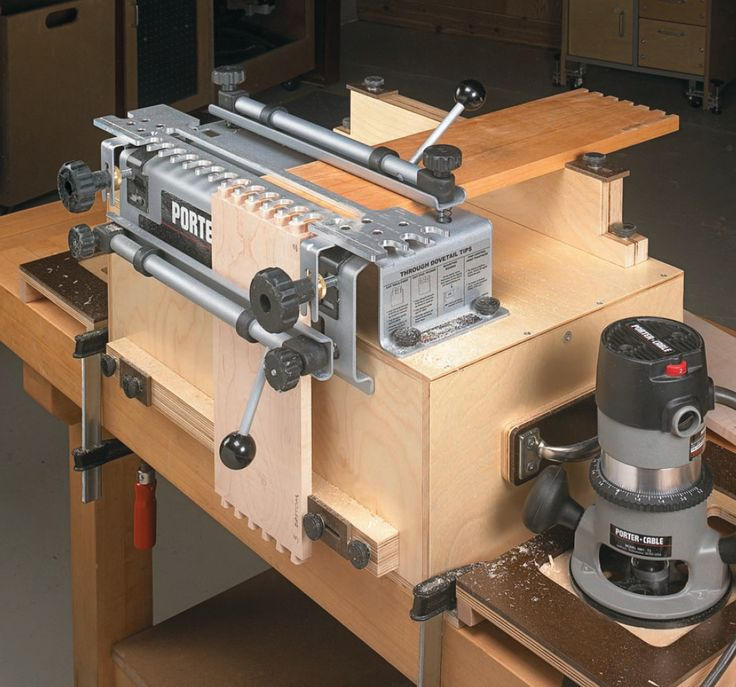 Portable Dovetail Jig Workcenter | Woodsmith Shop Tools ...